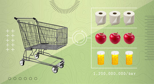 grocery cart — uncertain times-blog-1