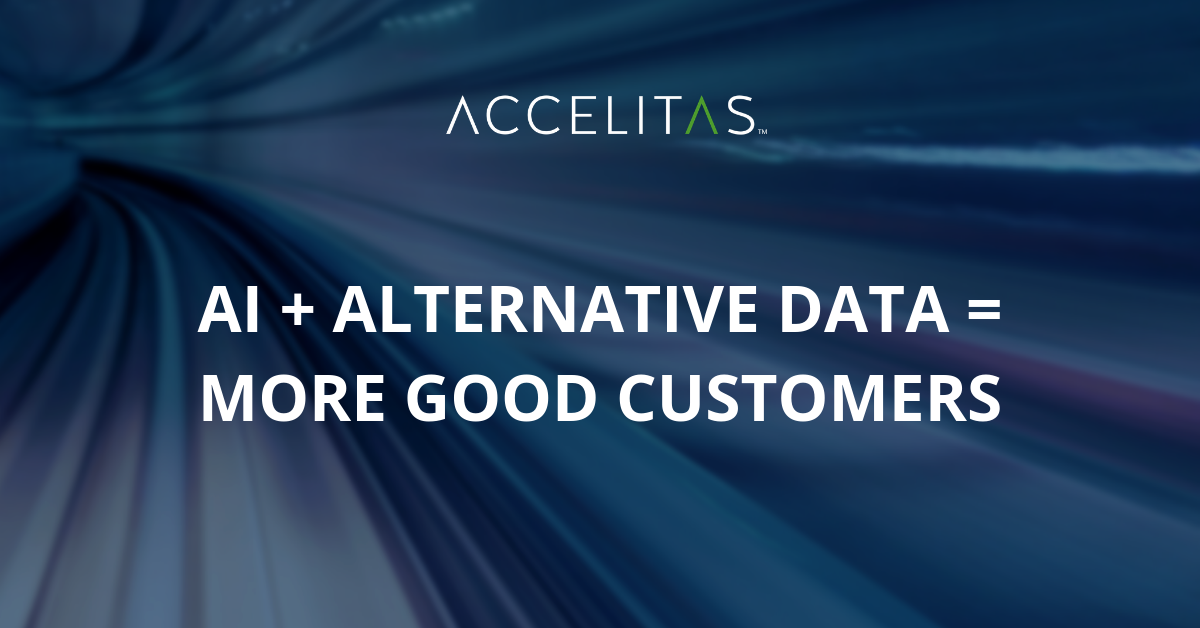 AI + Alternative Data = More Good Customers